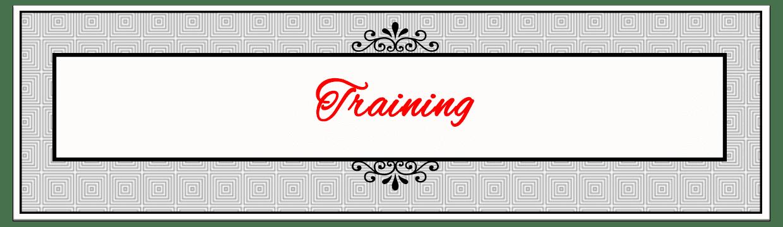 Training Banner