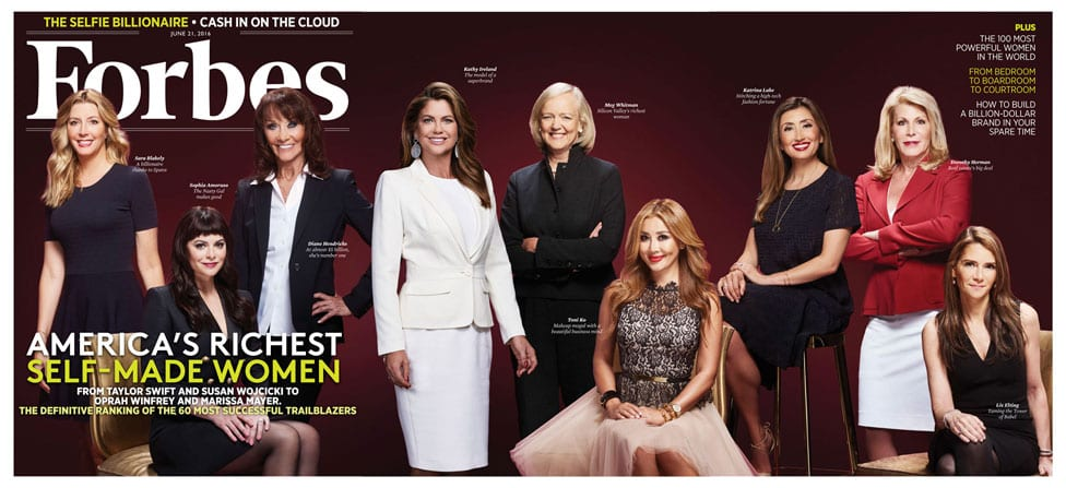 Forbes 60 Self Made Women